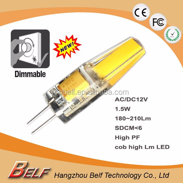 Mini g4 led bulb G4 LED AC DC 12V led electric 1.5W G4 LED