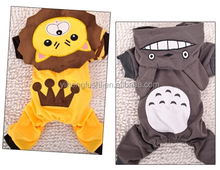 Cheap Dog Winter Warm Clothes Pet Lovable Totoro and Lion Cosplay Clothes Dog Four Wear Nice Hoodies