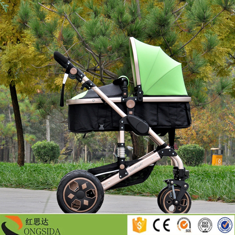 2016 made in china light baby stroller / baby buggy / baby pram stroller with canopy