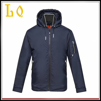 2017 New design casual mens lightweight down jacket with hood