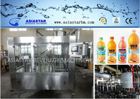 plastic bottle filling and sealing machine