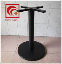 Restaurant common black table legs, steel legs, steel composite material base