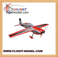 Balsa wood rc airplane model F153 Extra 300 125in 150-175cc gas engine rc airplane