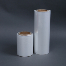 Plastic clear covering jumbo roll stretch film