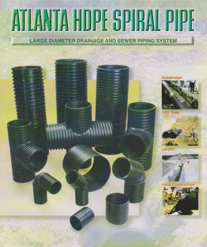Atlanta HDPE Spiral Pipes