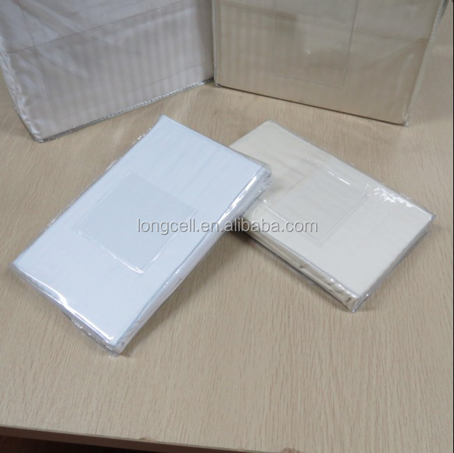 Perfect hotel linen percale white pillowcase