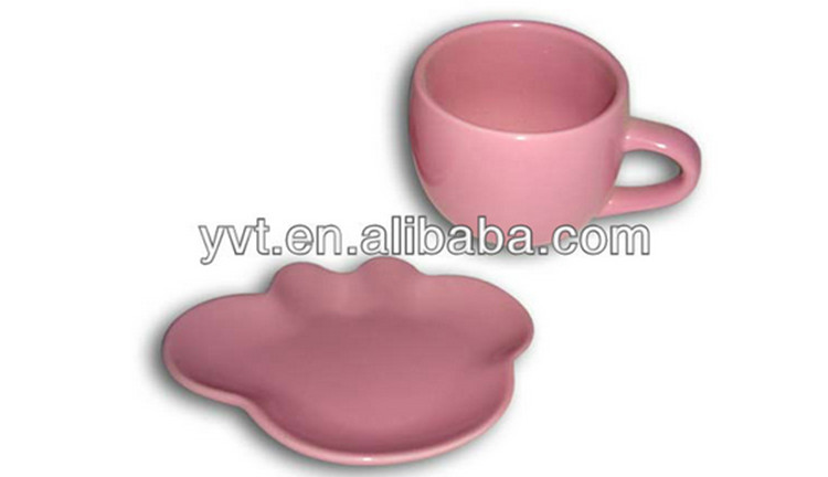 Factory Directly Wholesale Porcelain Coffee Cup And Saucer