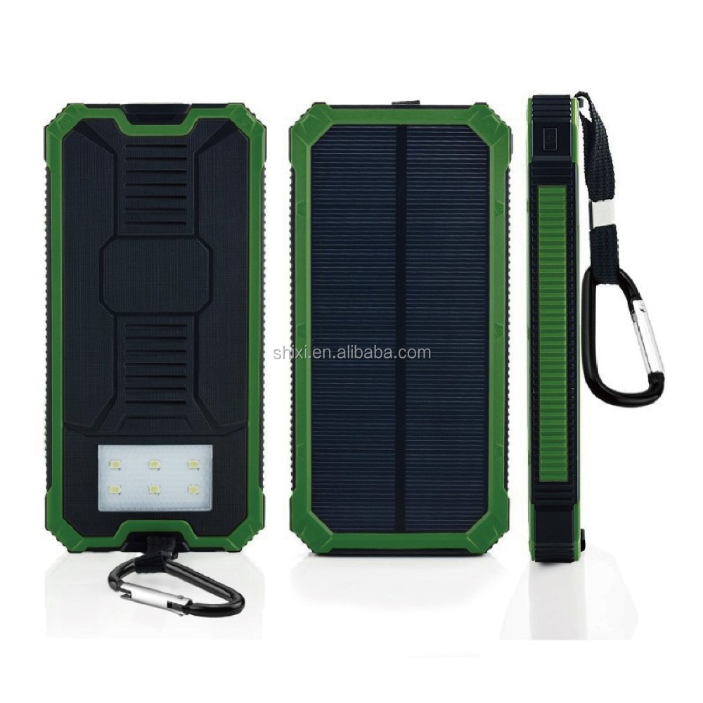 2017 trending products solar charger power bank 20000mah portable power bank 50000 mah