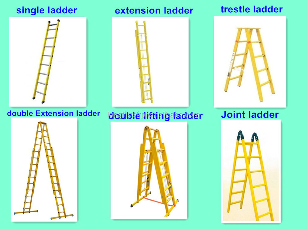 Frp Grp Fiberglass Extension Ladder Used In Electric Power