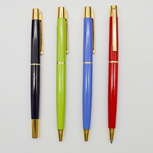 Good Quality Parker Ink Gold Elements Metal Roller Pen And Ball Pen Set