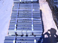 SK200 excavator steel track shoes,700mm wide track pads of excavator undercarriage parts