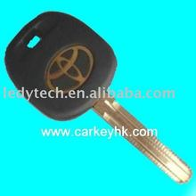 Auto key chip Toyota transponder car key with 4C chip