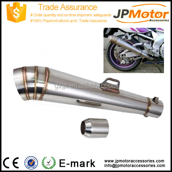 600ccStainless Steel 51mm GP02 motorcycle exhaust muffler for street bike dirt ATV UTV and Scooter