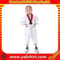 High quality custom made karate clothing / kids karate uniforms wholesale