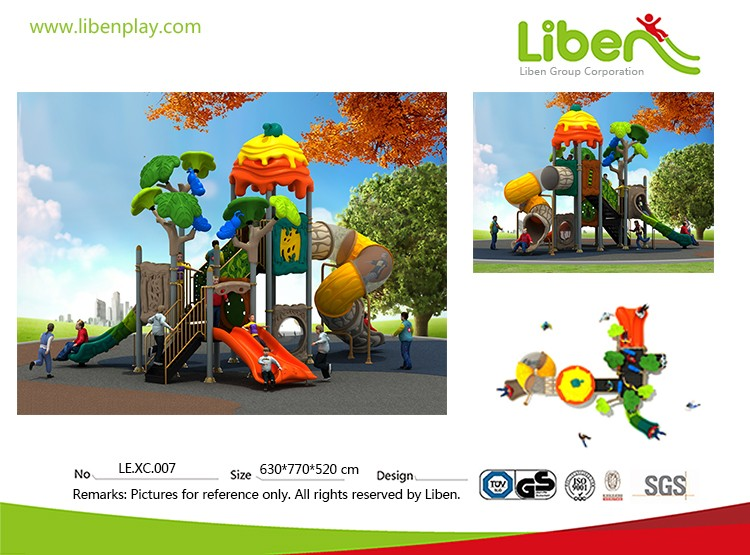 New series high quality colorful play forts