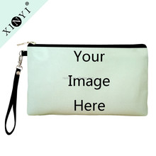 Wholesale Your Image Here Print Custom Change Wallet/Mobile Phone Bag/Clutch/Handbag Women Key Coin Purse Ladies