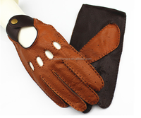 Top Quality Real Soft Leather Man Driving Gloves