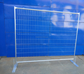 6ft X8ft Construction Zone Fence Panel Secure Temporary Fence