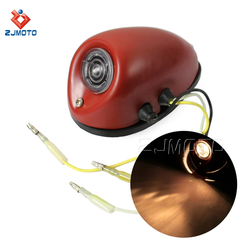 Motorcycle Front Sidecar Light Taillight For DB DS DBK KS KS750 MW/<strong>M1</strong>/M1M/M1S/M72/R12/R75/R51/R61/R66/R71 K750 Replika