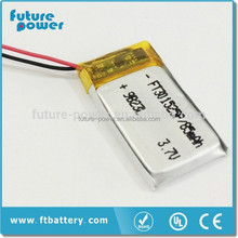 FT301525P Rechargeable Lithium-ion Battery 5v/85mah for sale