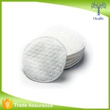 Factory supply high quality round facial cotton pad