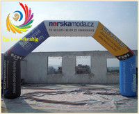 exhibition/event high quality inflatable advertising arch