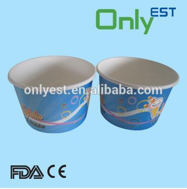OEM Biodegradable disposable icecream cup paper cup manufacturer