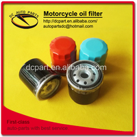 Warranty Motorcycle Scootor Autobike Autocycle oil filters M14*1.5 new hot sale style warranty from China