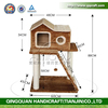 BSCI Pet Factory Wholesale 2016 New Cat Tree House,Cat Scratching Tree,Climbing Wooden Cat Furniture