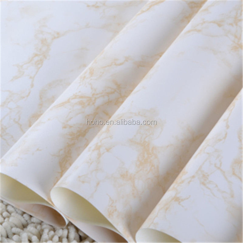 marble effect wallpaper/stone effect wall paper/ brick effect wall papers from chins manufacturers