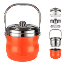 Portable wholesale professional free fire re-cooking pot for camping use