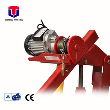 China portable mini hydraulic truck pickup crane