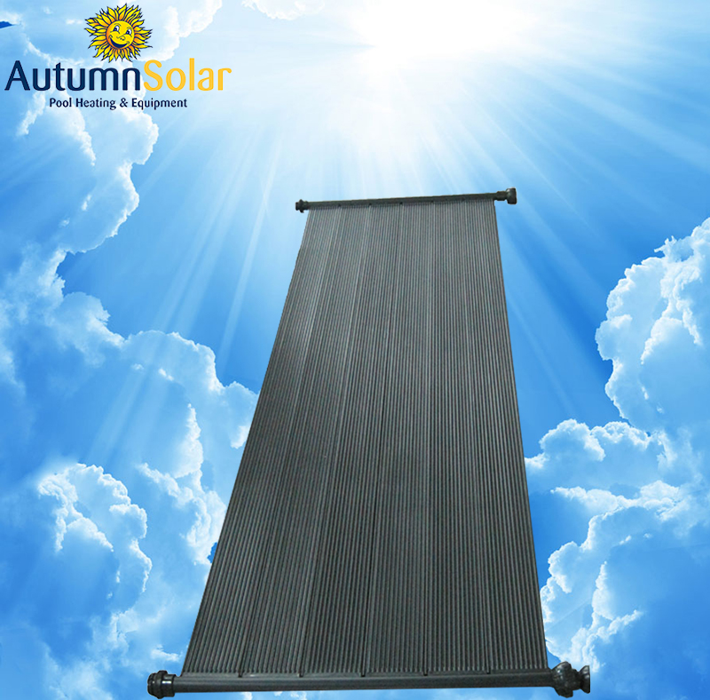 Hot selling 4ft*10ft hard PP solar pool collector for water heating