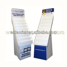 High quality Printing Color cardboard Hook Pop single hat display stand