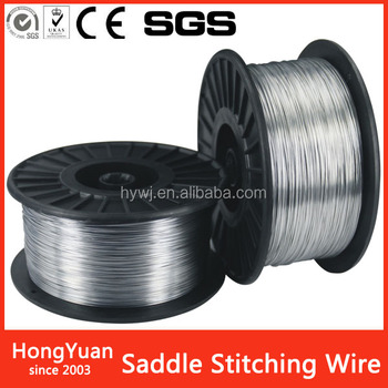 Packaging & Printing book binding galvanized stitching wire
