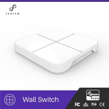High quality Z-wave touch sensor light switch for home use