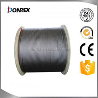 High tensile steel wire rope for crane