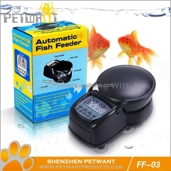 LCD Smart Aquarium Automatic Fish Feeder