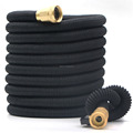 ALL BRASS fitting EXPANDABLE GARDEN HOSE PIPE HIGH QUALITY FLEXIBLE MAGIC WATER HOSE 100ft
