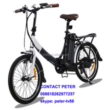 folding bike easy foldable mini chopper motor electric city bicycle
