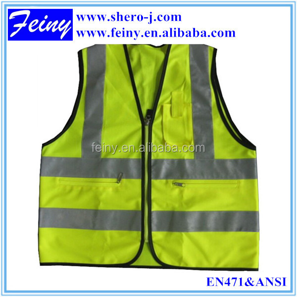 hi vis safety reflective en471 class 2 safety vestvests