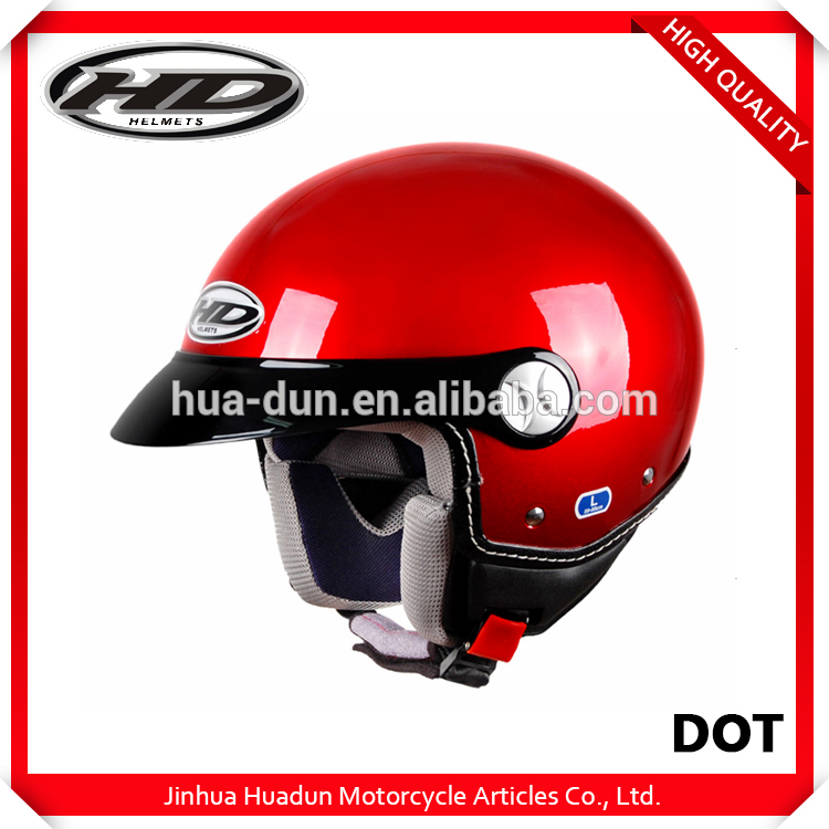 Huadun brand custom colorful best price preferential benefit scooter helmets