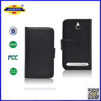New PU Leather Wallet Case for Sony Xperia E1