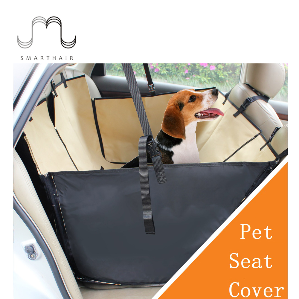 SMARTHAIR SMCM04 Detachable Waterproof Foldable Pet Dog Car Seat Covers