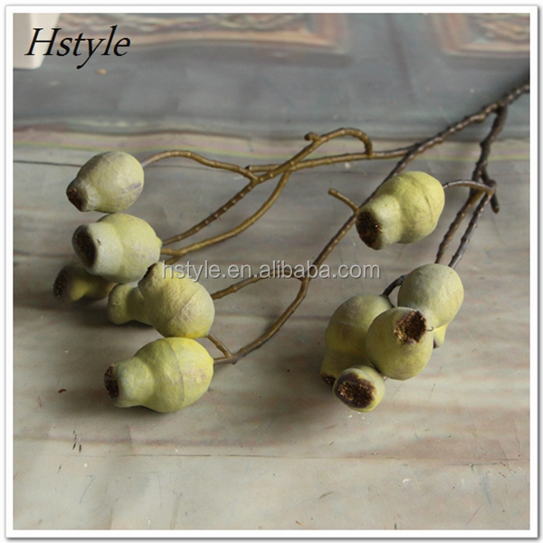 Artificial Flower China Decorative Pipe Fruit for Home Office Decoration FZH080