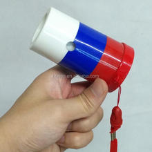 Russia sports football fan whistle with lanyard russian fan blow horn