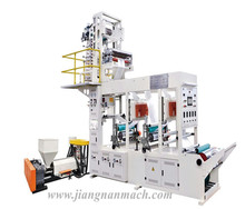 Factory mini extruding plastic film blowing and printing machine for shopping bags