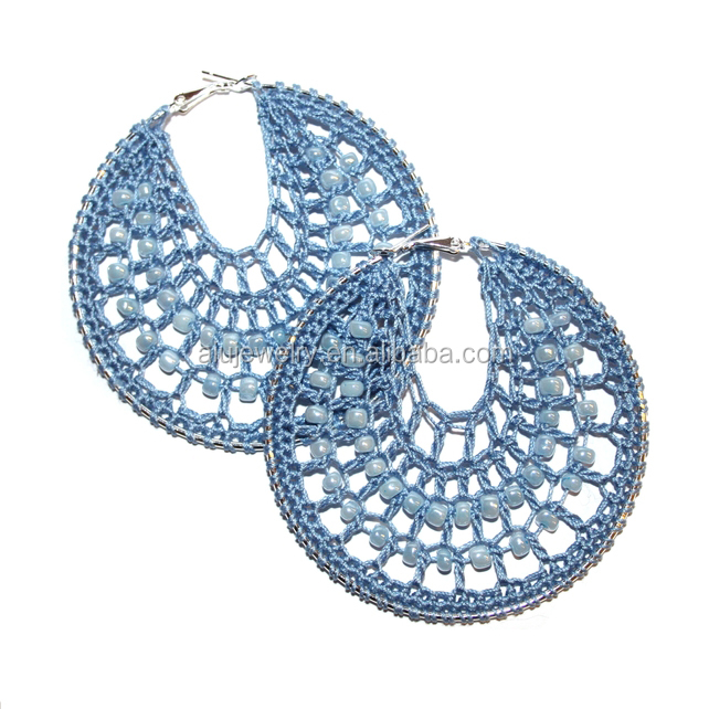 lady jewelry Handmade Crochet Earrings wholesale