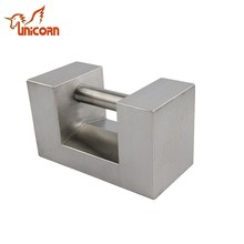 5kg,10kg,20kg rectangular series sanding stainless steel weights for balance test weights
