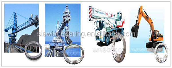 cement mixer used swing ring bearing
